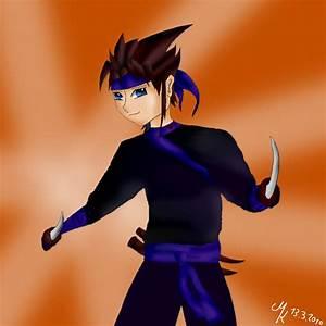 Anime Ninja Boy by TheDragonCat on DeviantArt