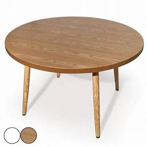 Tables Rondes Extensibles : table ronde bois extensible ~ Teatrodelosmanantiales.com Idées de Décoration