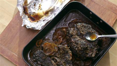 cuisiner un roti de boeuf rôti de palette au four cuisine futée parents pressés