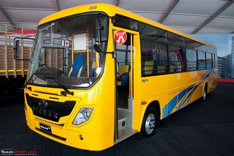 eicher pro series  range  buses trucks team bhp