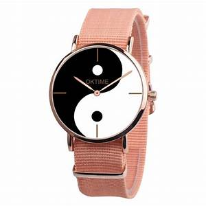 Watch Womens Eight Diagram Tactics Casual Canvas Leather