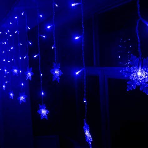 led light string buy led snowflake light string wedding curtain