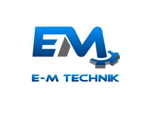 e m technik logo design contest loghi di nelson