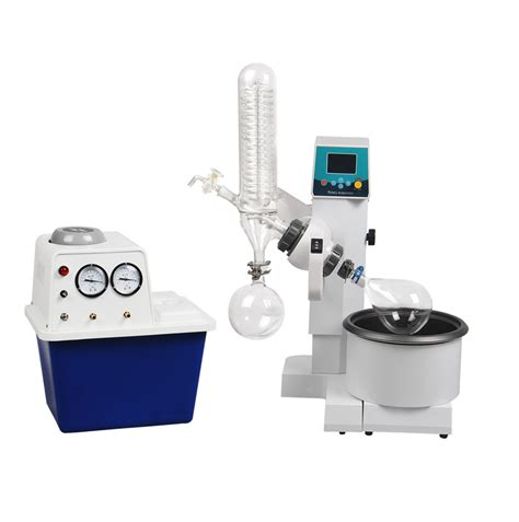 rotary vaccum evaporator 2l rotary evaporator motor lifting turnkey package w