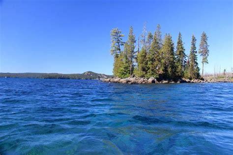island hopping  oregons spectacular waldo lake