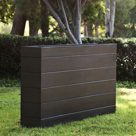 rectangular planter box madera rectangle planter boxes outdoor planters with faux