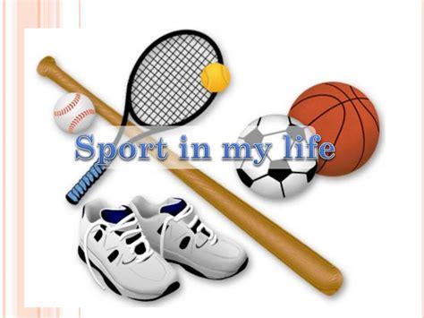 Sport Is My sport in my презентация онлайн