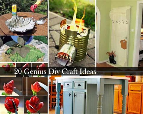 20 crafts to make you fall in love with diying