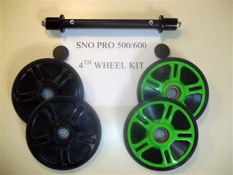 arctic cat     sno pro   wheel kit