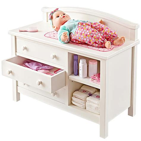 doll changing table station doll changing table woodworking plan from wood magazine