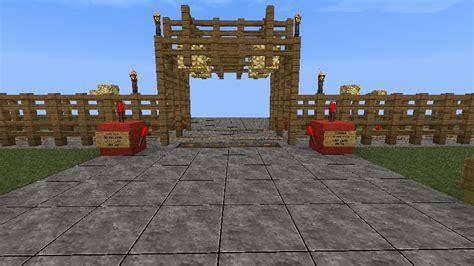 Minecraft Railroad Crossing For Mrt Minecraft Project