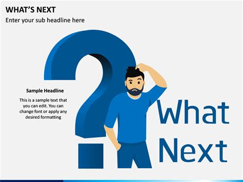 Whats Next PowerPoint Template | SketchBubble