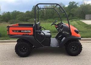 Kubota Wsm Rtv400ci Utility Vehicle Service Repair