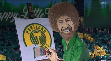 Portland Timbers Fans Unveiled A Massive Banner Of