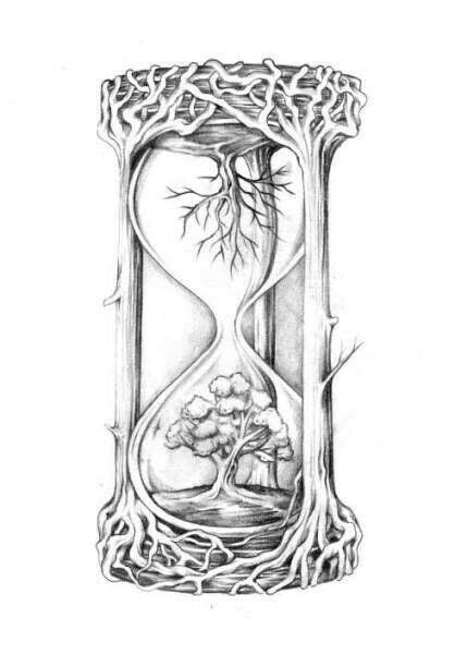 Pin by Teri Whittlinger on A. book of shadows | Hourglass tattoo, Tattoo drawings, Sleeve tattoos