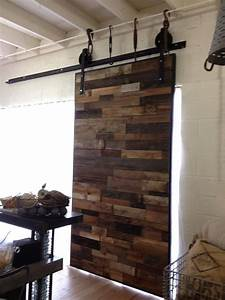 custom sliding door for antiquities warehouse built by pbw With barn wood phoenix