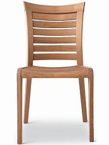 Chaise Bois Exterieur : mirage chaise pour jardin en bois robinier sediarreda ~ Teatrodelosmanantiales.com Idées de Décoration