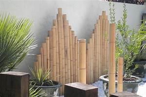Bambou Brise Vue : des panneaux de bambou pour un jardin de style japonais ~ Premium-room.com Idées de Décoration