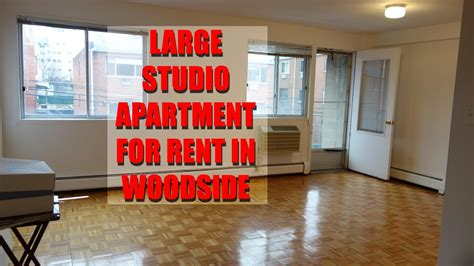 For Rent Woodside Nyc l shaped studio with balcony for rent in woodside