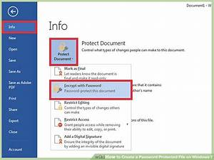 3 ways to create a password protected file on windows 7 With google documents password protect