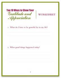 Gratitude Worksheets Send Out Cards To Show You Care Free 47 Gift