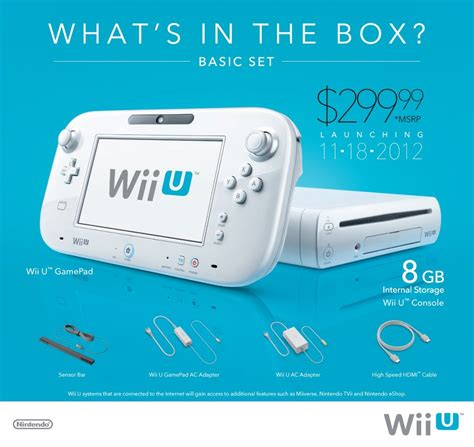 wii u console price news nintendo announces the wii u release date for