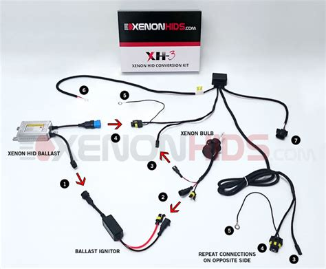 Hid Kit Wiring Diagram by Installation Guide For Hid Led Headlights Xenonhids