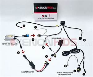 Xenon Hid Headlight Wiring Diagram - Wiring Diagrams Image Free