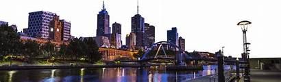 Melbourne Skyline Transparent Purepng
