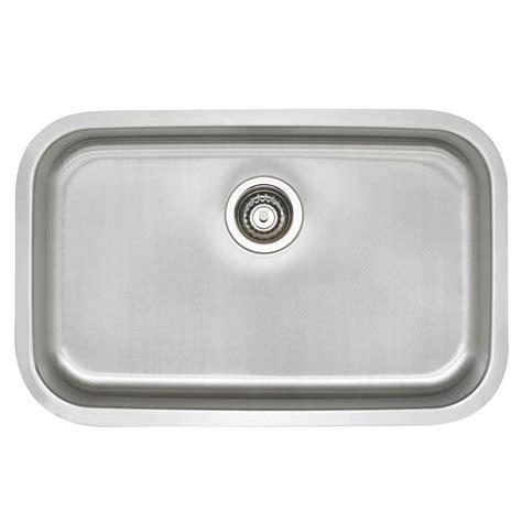 stainless steel single bowl kitchen sink blanco stellar undermount stainless steel 28 in single 9417
