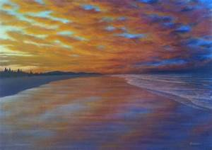 Sunset painting. A simple strategy to uncover the nuance ...