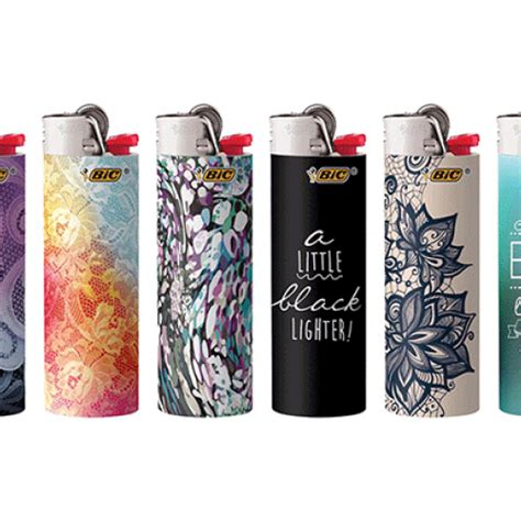 bic lighter designs bic special edition fashion series lighters cs products