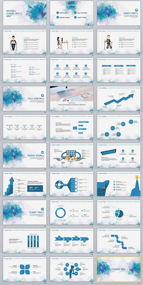 chart powerpoint template images