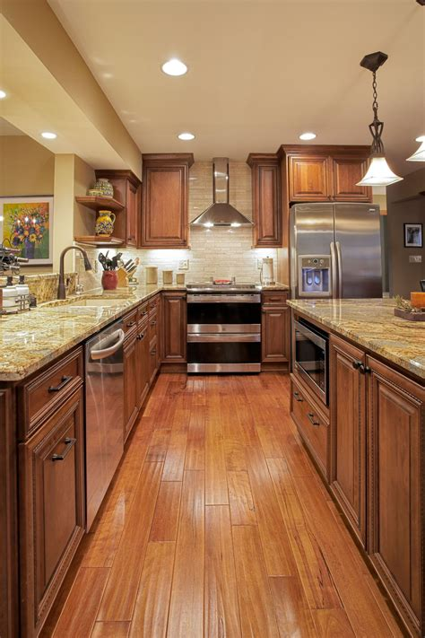 Best Wood For Cupboards by Woods In Warm Rich Medium Brown Tones Were Used To Great