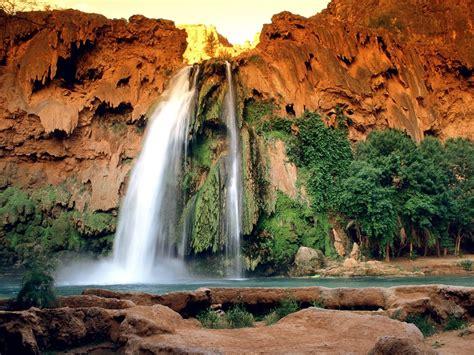 landscapes nature waterfalls 1600x1200 wallpaper High ...