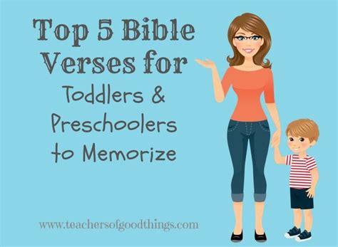 top 5 bible verses for toddlers and preschoolers verses 338 | d935ecfad881ca4e60e8a5ab295ba675