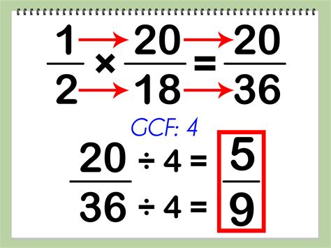 How To Divide And Multiply Fractions 5 Steps
