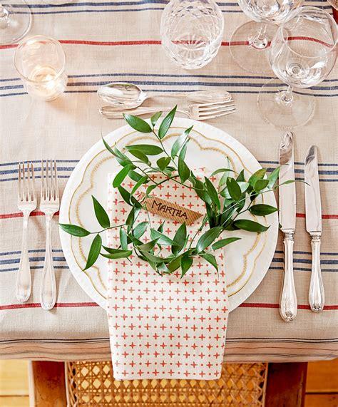 Christmas Table Settings Martha Stewart Creative Tree