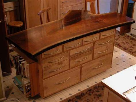 custom made kitchen island custom kitchen islands dumond s custom furniture 6399