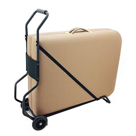 master massage universal wheeled massage table carry case royal massage universal deluxe folding massage table cart