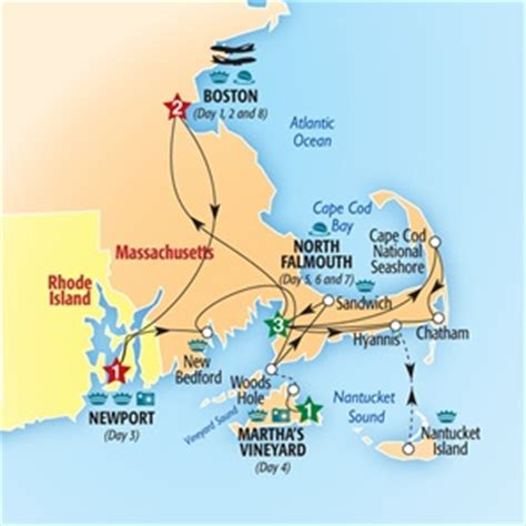 Boston, Cape Cod And The Islands (summer 2014) From