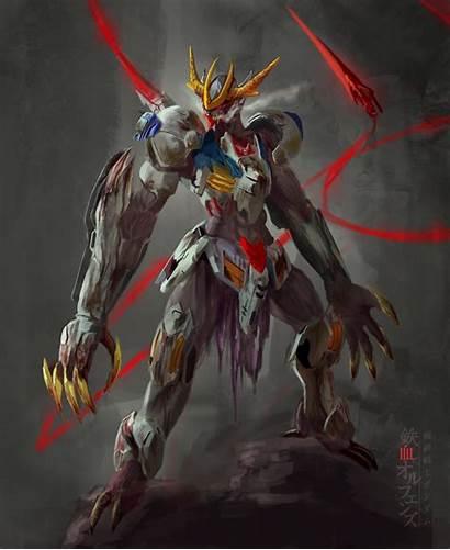Barbatos Lupus Rex Gundam Wallpapers Deviantart Iron