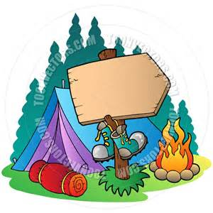 Cartoon Camping Tent