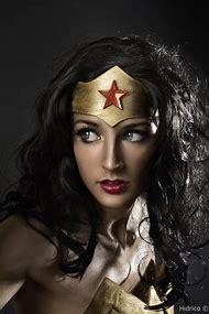 As Wonder Woman Cosplay