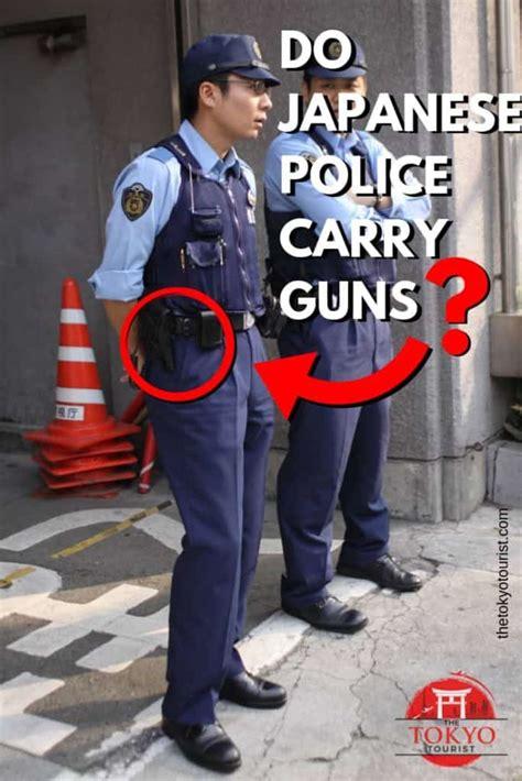japanese police carry guns  tokyo tourist