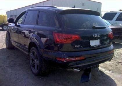 auto body repair training 2010 audi s6 head up display export salvage 2012 audi q7 prestige black on black