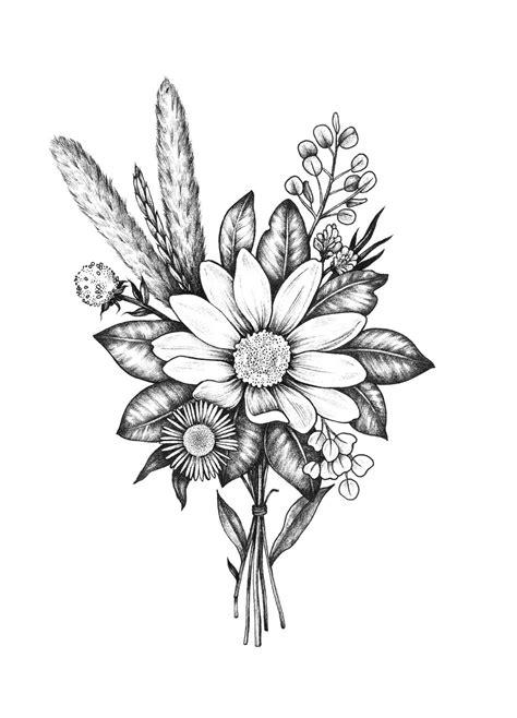 1421787246914 1,000×1,390 pixels | Flower tattoos, Bouquet tattoo, Tattoos