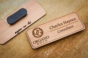 custom name badges engraved name tag with logo custom logo With handmade name tags