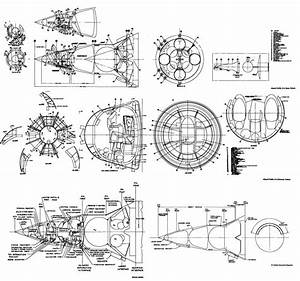 Apollo Command Service Module Drawing - Pics about space