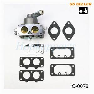 Carburetor For Briggs  U0026 Stratton 791230 699709 499804 20